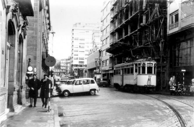 Vigo a La Ramallosa- postal comercial