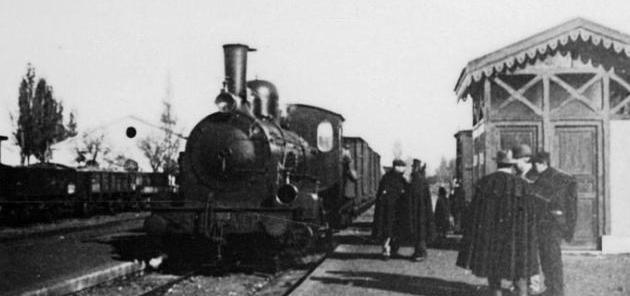 línea de Zamora a Orense , año 1913, fondo JPT
