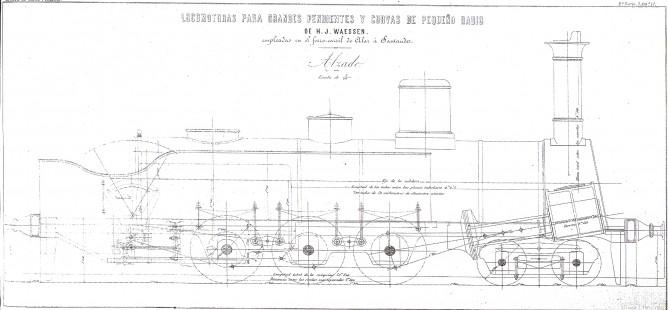 Bastidor de la locomotora Vaessen