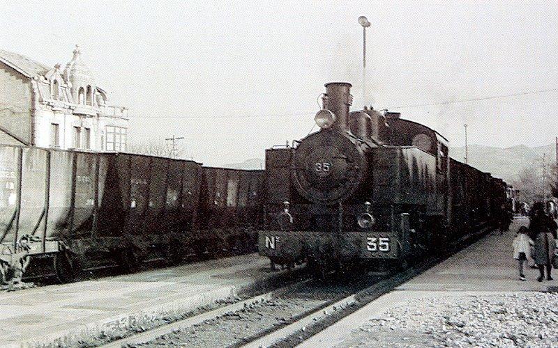 Locomotora nº 35, fondo APG