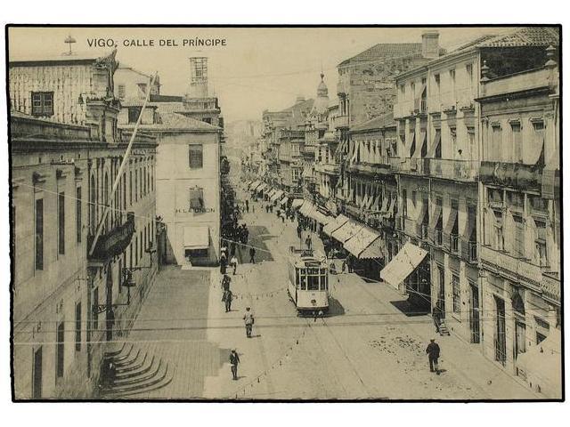go, calle del Principe, foto: Postal comercial, fondo Miguel Diago Arcusa