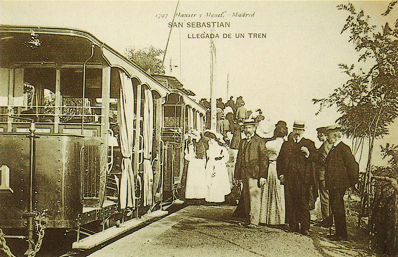 ferrocarril del monte Ulía,