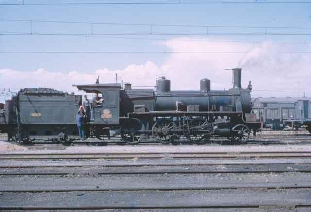 Espeluy, locomotora