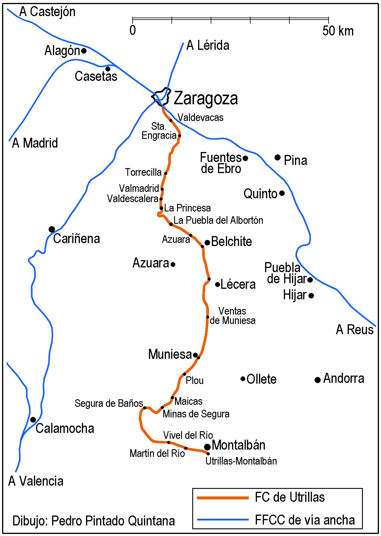 Plano de la linea