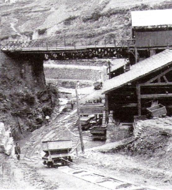 Plano inclinado de la Compañia Minera de Setares