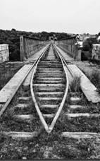 Puente sobre el Pedroches, fondo: Fofer