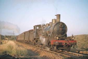 Linea de Marchena a Córdoba, locomotora