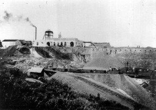 Mina Caridad , año 1909, fondo : Javier Bernal