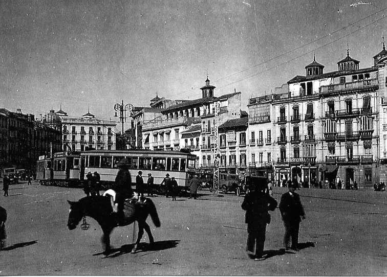 Tranvias Eléctricos de Granada, fondo : APG