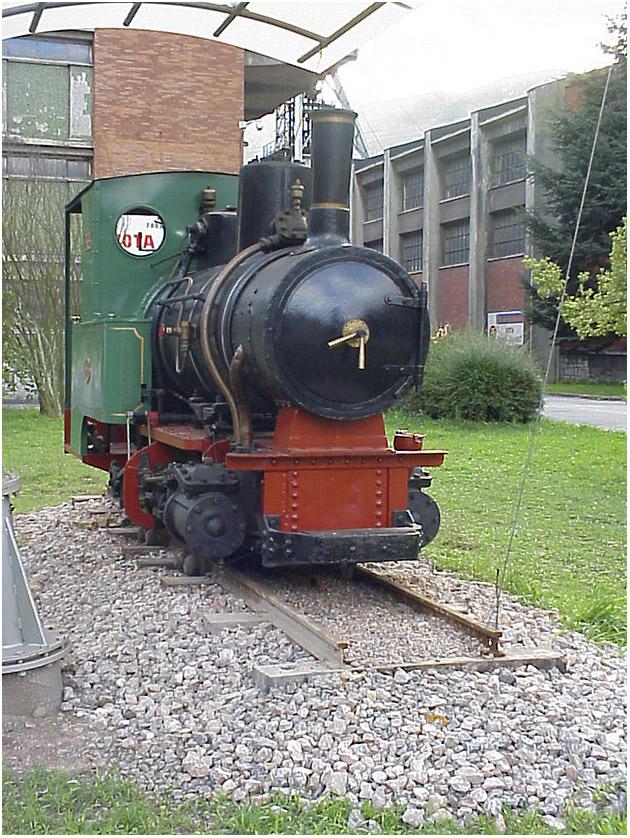 Locomotora nº 4 de Minas de Figaredo