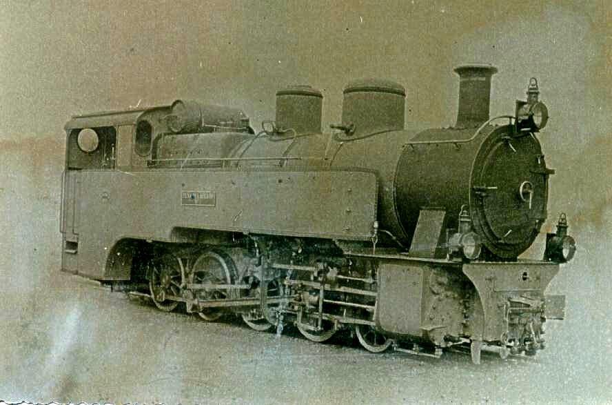 Locomotora nº 1, rodaje 141T Krauss,