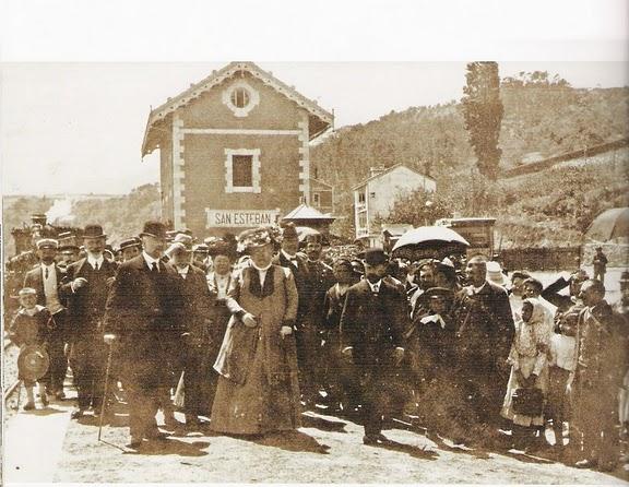 La Infanta Isabel , inaugura el tramo de Ujo a San Esteban de Pravia