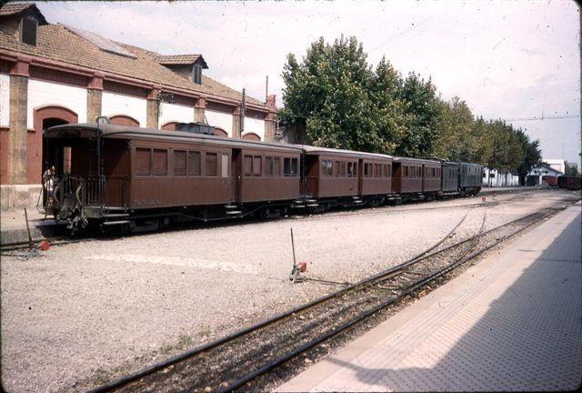 Estacion de Palma , año 1960,