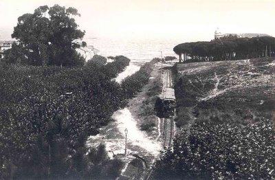 Tranvia en el año 1900