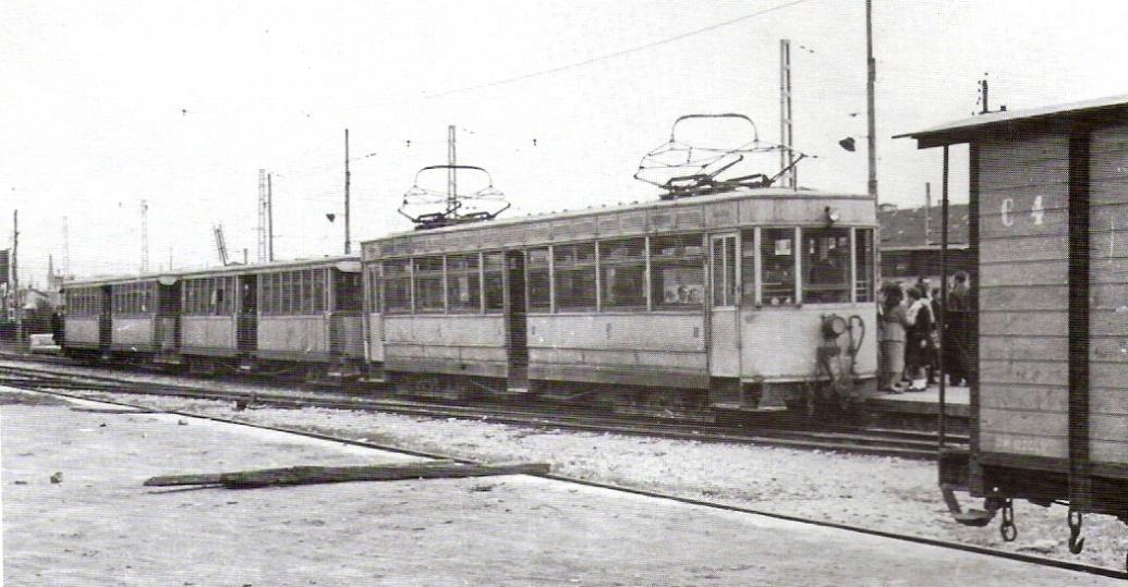 Tranvia tipo Odessa en Gijón