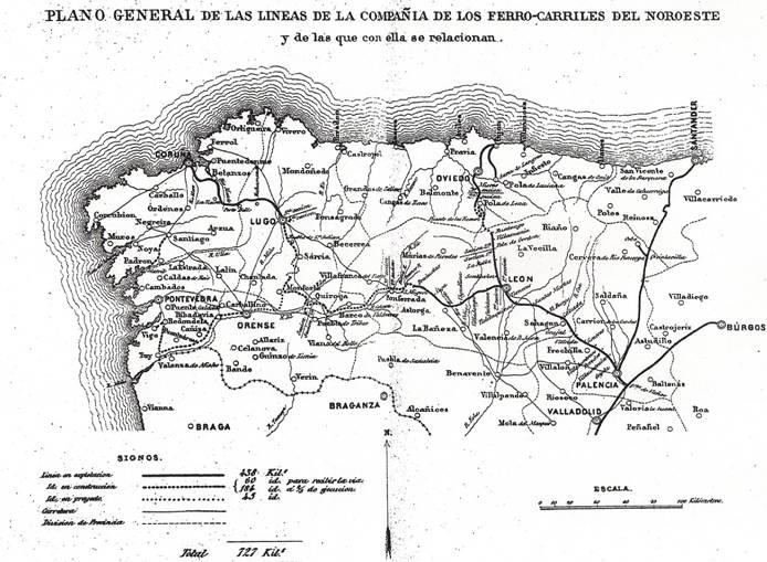 mapa de la red