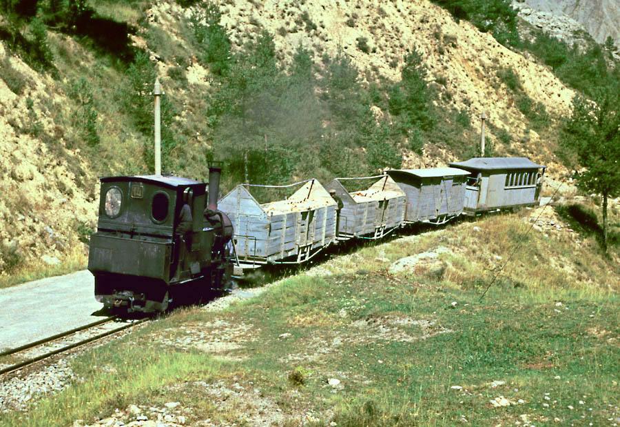 Ferrocarril de guardiola a Castellar d´en Huch