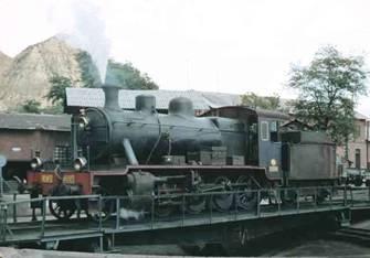 Locomotora de Vapor en Guadix