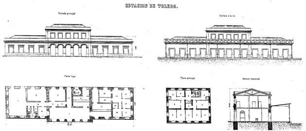 Primitiva estacion de Toledo