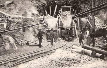 Obras en el Túnel de Tossas