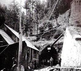 Boca del túnel de Viella