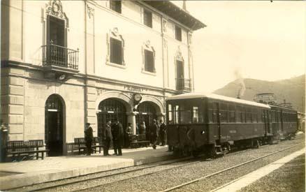 Estacion de Azcoitia, año 1920,