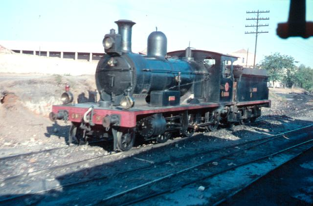 Alcantarilla, Locomotora