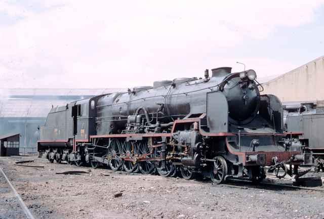 Castejon de Ebro, locomotora