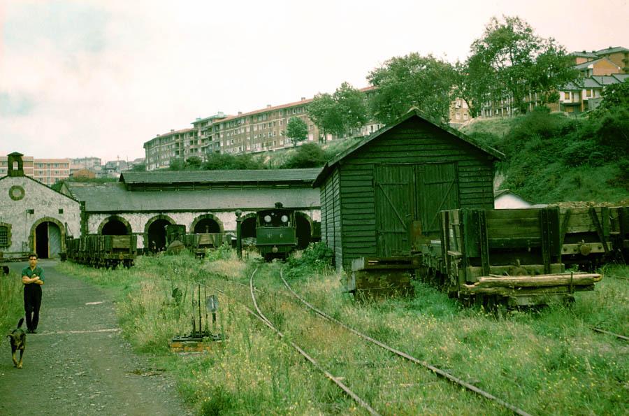Deposito de locomotoras