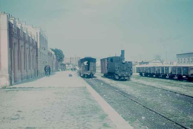 Estacion de Alcoy , abril 1968,