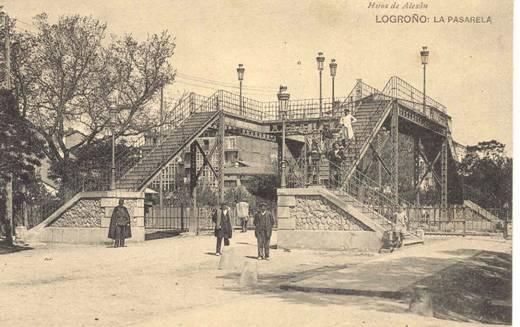 La Pasarela en la estación de Logroño