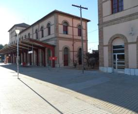 Estacion de Utiel, foto : Pedro Luis Marti