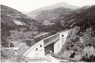 Puente de Planolas, año 1927