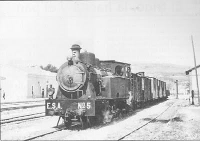 Estrategicos de Amicante, locomotorea nº 5, foto Joan Morellá