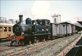 "Locomotora nº 101 ""Udalla, Dübs 220T, año 1960"