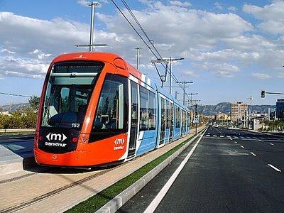 Nuevo tranvía en Murcia, foto: Travimur. es
