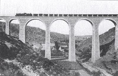 Sierra Menera , viaducto . Foto : José Marco