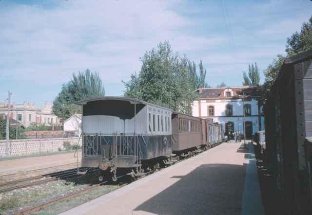 Estacion de Palencia, año 1965,