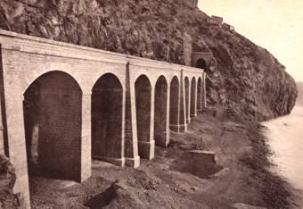 Garraf, viaducto de La Foradada
