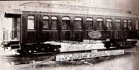 Foto de fábrica del vagon a bogies