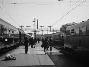 Estacion de Atocha, octubre de 1967, foto: Juan Peris Torner