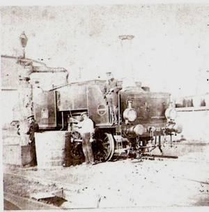 Locomotora 021T Hartman, nº 23, Valencia año 1890