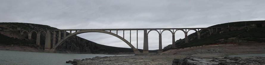 Viaducto de martin Gil, fondo : Grupo Vapor Zamora