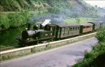 """Locomotora """"Molinar"""" en servicio en 1964"""