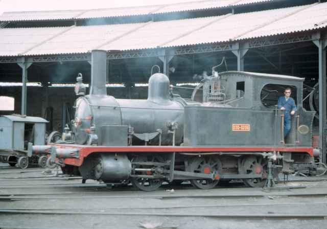 Deposito de Puente Genil, locomotora