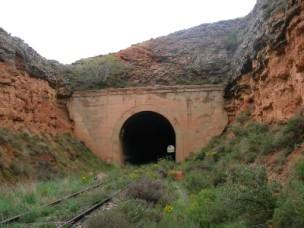 Túnel de la Nava, Tarazona,