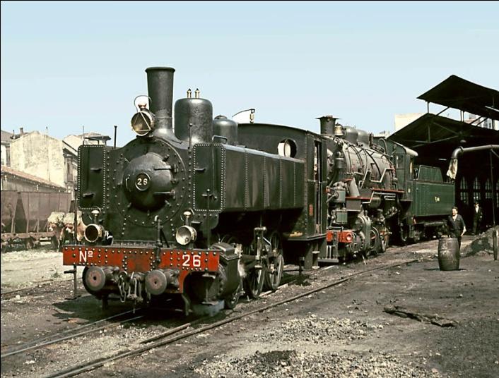 Locomotora nº 26 Haine Saint Pierre