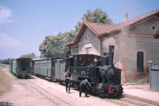 Estacion de Llagostera