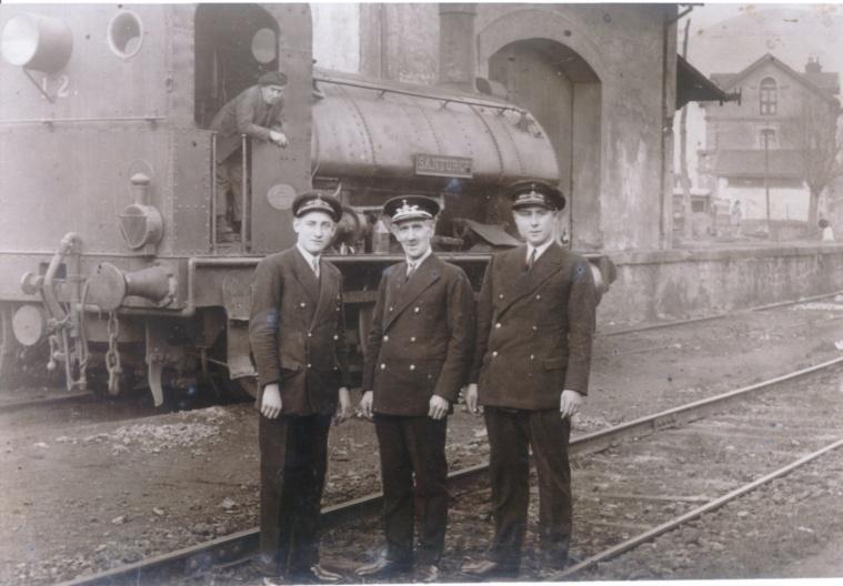 """Locomotora """"Santurce"""" año 1934,"""
