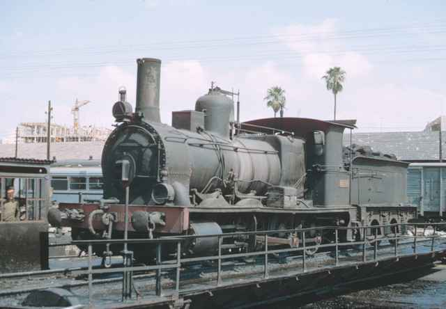 Murcia, locomotora 040.2085, mayo 1966, foto: James M. Jarvis
